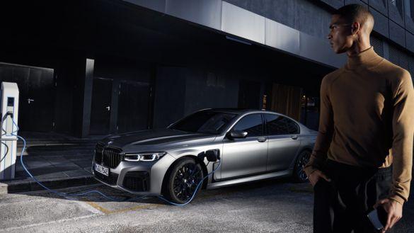 BMW Série 7 Berline Hybride Rechargeable