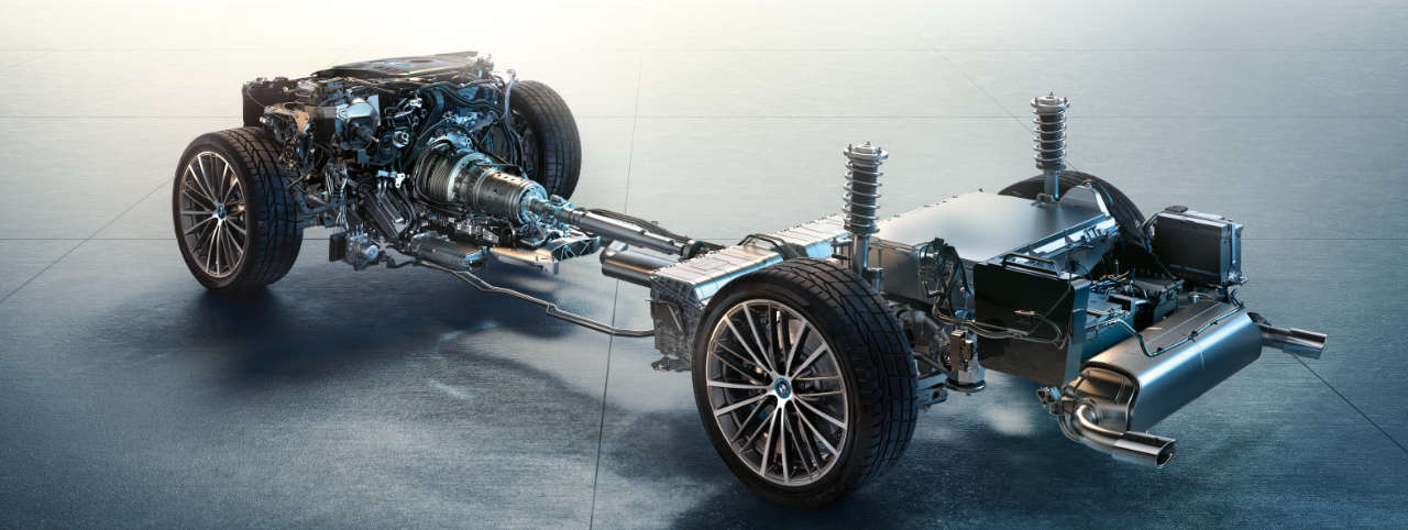 BMW technologie hybride rechargeable