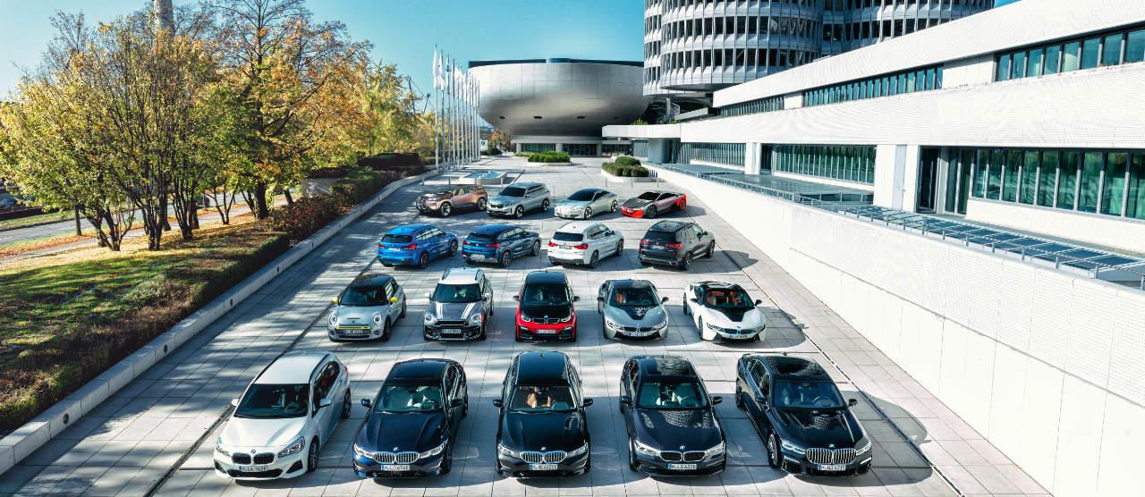 Gamme BMW hybride rechargeable électrique